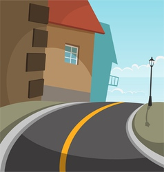 City road vector