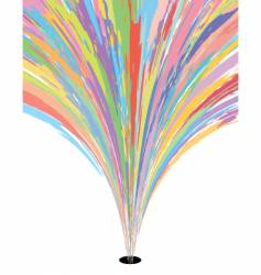 Color burst vector
