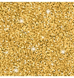 Gold Glitter Texture seamless vector image