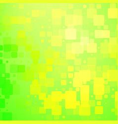 Green and yellow shades rounded tiles background vector