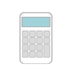 Calculator maths device vector