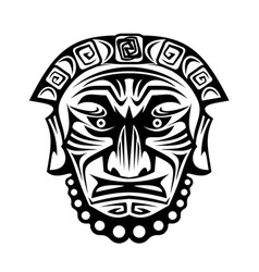 Religious mask vector