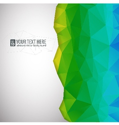 background for presentations and design vector image vector image