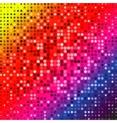 Dark red purple blue color Light Abstract pixels vector image