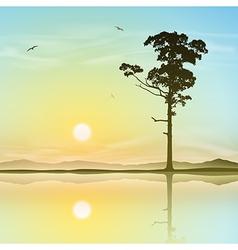 Lone Tree vector image