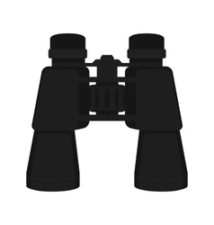 Binoculars icon Color No outline vector image