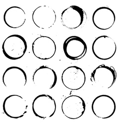 Circle Elements set 01 vector image