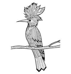 Doodle of bird vector