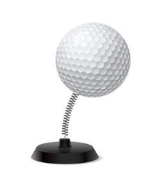 Golf souvenir vector