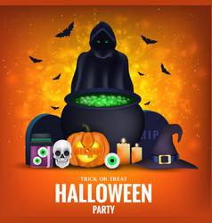 Happy halloween banner 5 vector