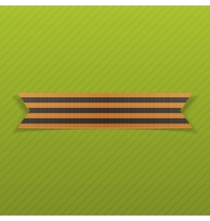 Victory day st george ribbon may 9 vector