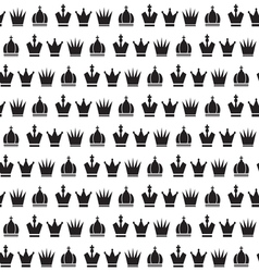 Crown seamless pattern1 vector image