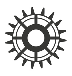 gear engineering design vector image