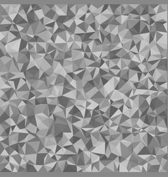 Grey irregular triangle tile mosaic background - vector