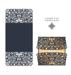 Laser cut template vector