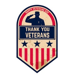 veterans day1 vector image vector image