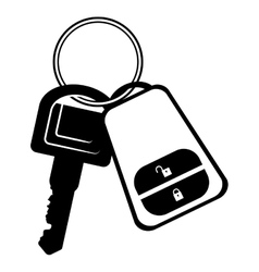 Key of a car icon vector