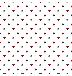 Poker or casino seamless pattern vector