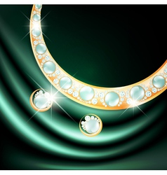 Jewelry Gemstone Set vector image