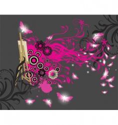 magic canvas vector image