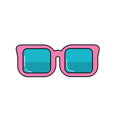 optical glasses to can see better vector image
