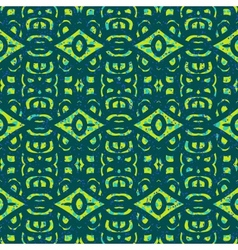 Pattern with bold ethnic stylized ornaments vector image vector image