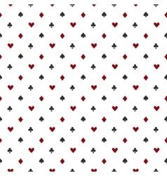 Poker or casino seamless pattern vector