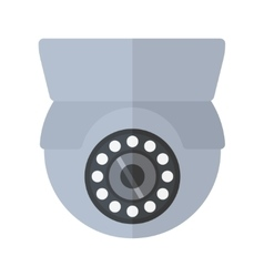 Security camera safety technology vector
