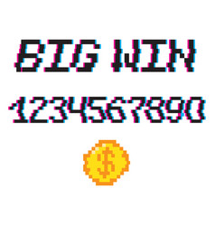 8 bit big win vector