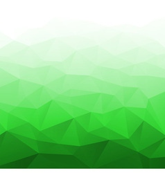 Abstract Gradient Bright Green Geometric Backgroun vector image vector image