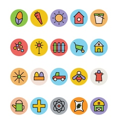 Agriculture icons 2 vector