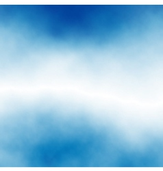 Cloud stripe vector image vector image