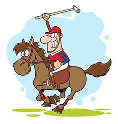 Polo Player vector image vector image
