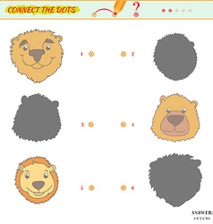 Visual puzzle or picture riddle vector image