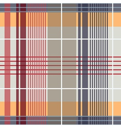 Spring plaid pattern vector