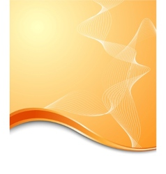 Orange high-tech background template vector