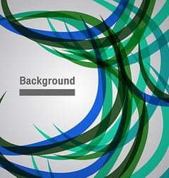 abstract background colorful wave line vector image vector image