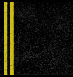 Asphalt with road lines vector