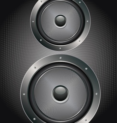 Audio speaker icon4 vector