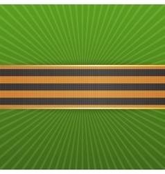 Victory day st george striped ribbon may 9 vector