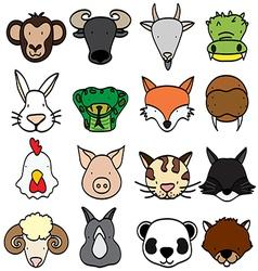 animal 2 vector image