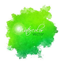 Abstract watercolor spot painted background vector image