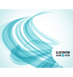 Abstract white and blue background vector