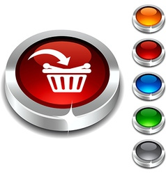 Buy 3d button vector
