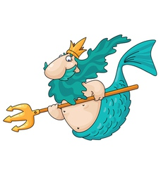 Merman vector