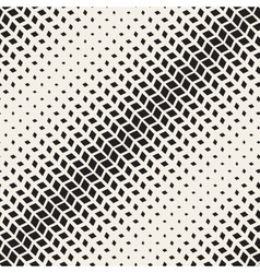 Seamless black and white diagonal rectangle vector