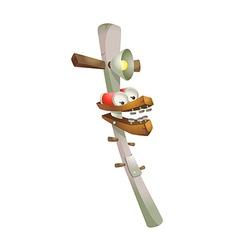 Icon telephone pole vector