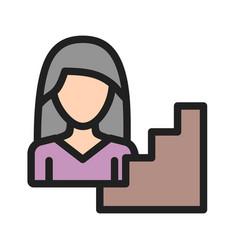 Woman career vector