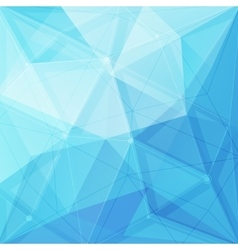 Abstract low poly geometric background with vector
