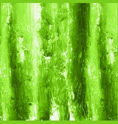 green hand paint watercolor texture vector image vector image